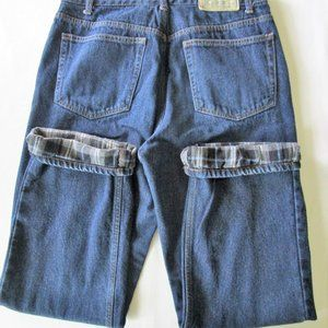 ❤️Men's Flannel Lined Jeans By Redhead-34/32